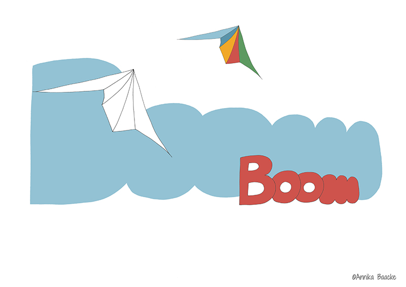 Boom - Illustration, Copyright: Annika Baacke